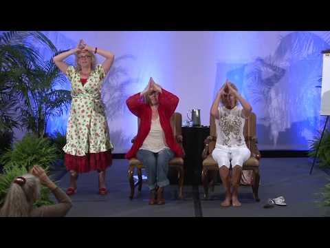 Energy Healing Exercise (Live)   Donna Eden - YouTube