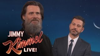 Jim Carrey On His Famous Beard & Leaving The Spotlight