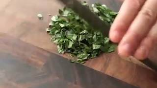 Knife Skills: How to Rock Chop