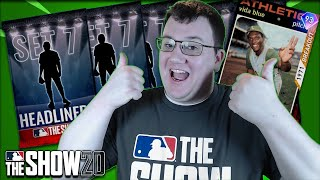 OPENING UP SET 7 HEADLINERS PACKS MLB The Show 20 Diamond Dynasty