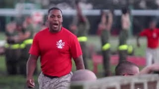 Drill instructor on why he loves his job