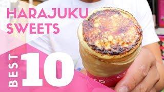 Tokyo Street Food | Top 10 Harajuku Sweets