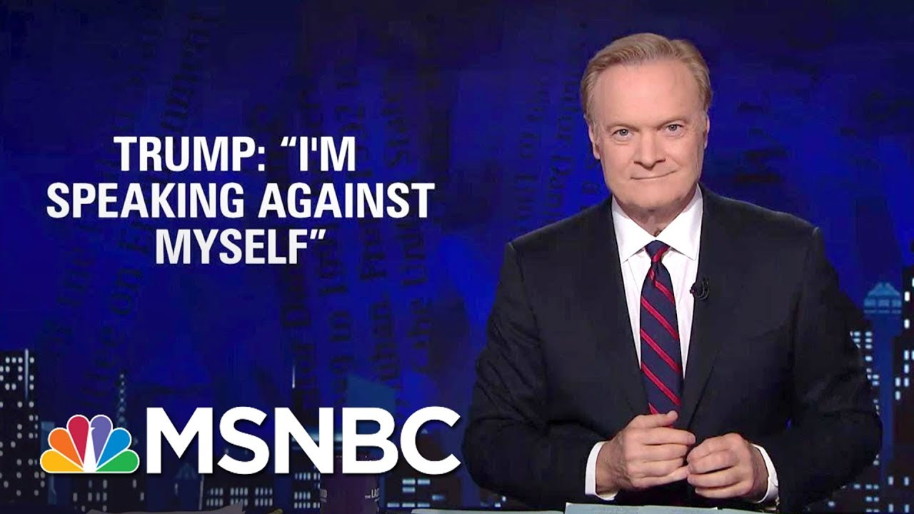 Lawrence: President Donald Trump's Teleprompter Speech Trouble | The Last Word | MSNBC thumbnail