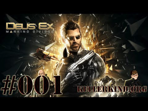 Deus Ex: Mankind Divided #001 - Anfang einer neuen Reise ★ Let's Play Deus Ex Mankind Divided [HD|60FPS]