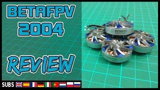 BETAFPV 2004 1700Kv - Motor Review & Thrust Test (RCBM 1520)