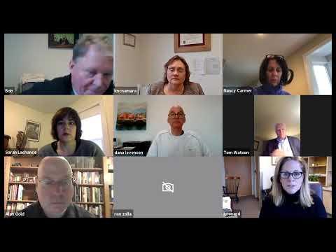 ECONOMIC DEVELOPMENT COMMISSION Zoom Meeting -  4 3 2020