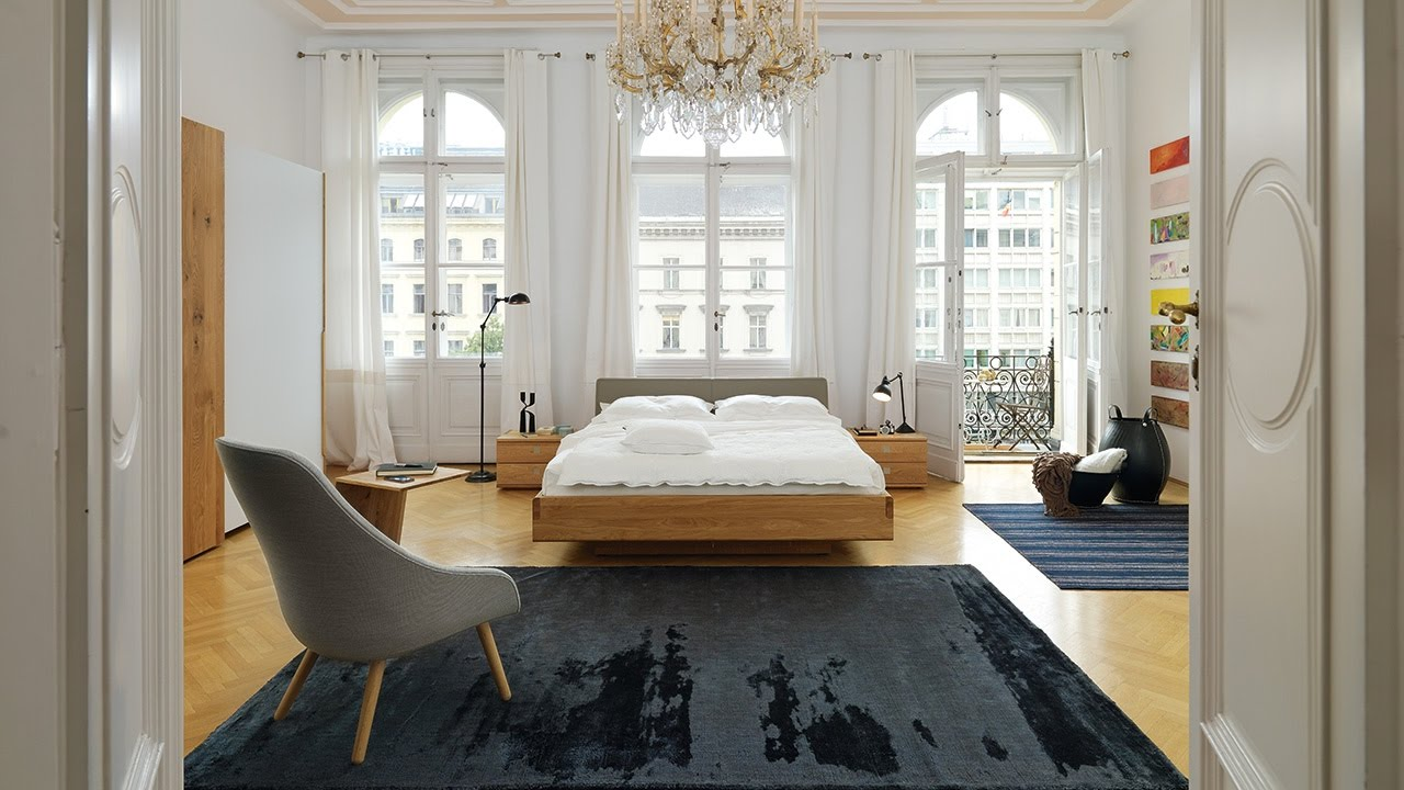 nox bett kraftvolles naturholz in soliden st rken team 7. Black Bedroom Furniture Sets. Home Design Ideas