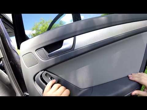 Audi A4 Avant Fenster Schalter Wechseln