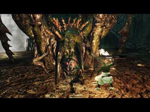 Dark Souls 2 Matando a Aranha gigante Freja