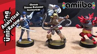Simon, Incineroar and Chrom Amiibo Analytical Review