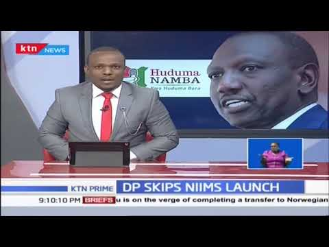 Why DP William Ruto was conspicuously missing in action as government launched Huduma Namba