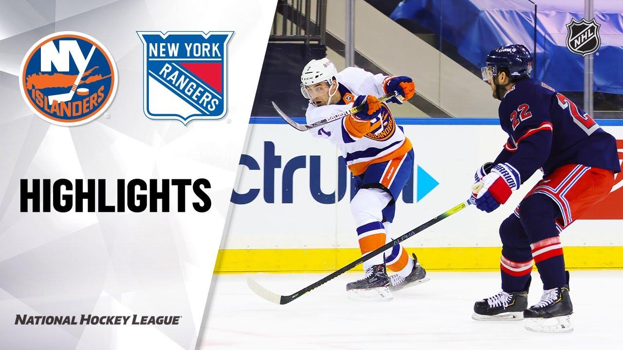 Rangers vs Islanders | Monday, February 08, 2021