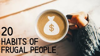 20 Daily Habits Of Frugal People⎟Frugal Living Tips ⎟Easy Money Saving Tips To Save Thousands