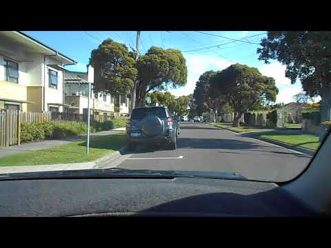 TTDT 170 Going Around Parked Cars Onto Other Side Of Road
