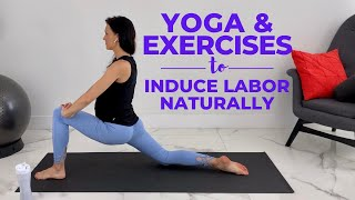 Pregnancy Yoga and Exercises To Induce Labor