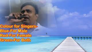 Tera saath hai kitna pyara karaoke only for male   - YouTube