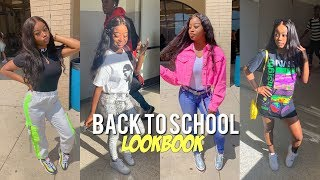 BACK TO SCHOOL OUTFIT LOOKBOOK