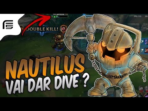 ESTÁ MUITO FORTE NO TOPO - NAUTILUS TOP GAMEPLAY - League of Legends - Fiv5 gameplay - [ PT-BR ]