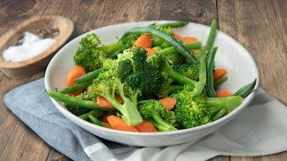 Pressure Cooker Steamed Veggie Medley With Mealthy MultiPot