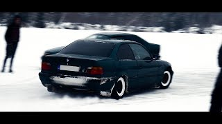 BMW ice drift