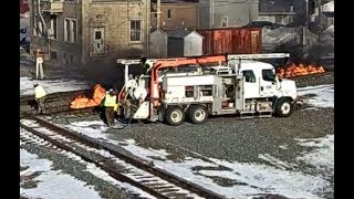 Tracks on Fire - Heating the Rail in Extreme Cold