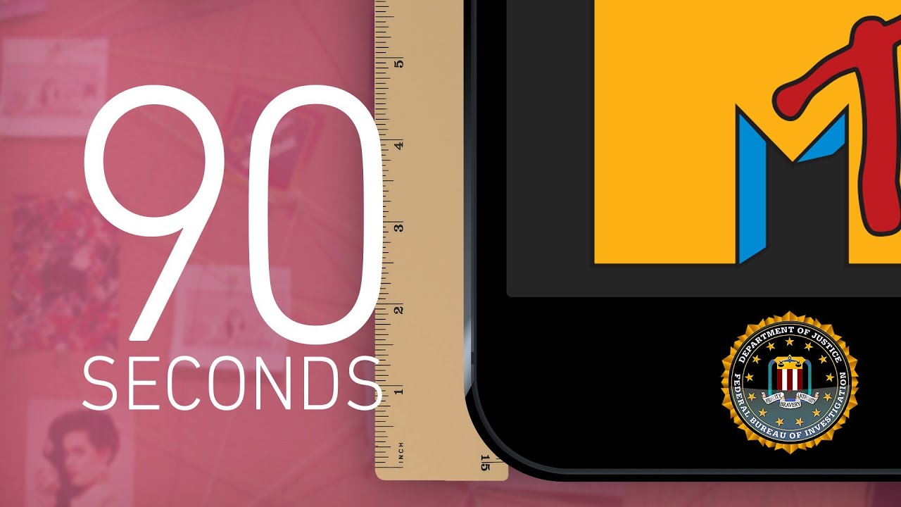 iPhones, FBI surveillance testimony, and MTV: 90 Seconds on The Verge thumbnail