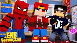 Minecraft .EXE - SPIDERMAN & JACK HAVE FINALLY CAPTURED ROPO .EXE!!