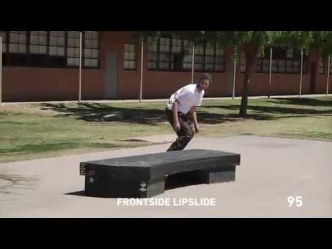 102 Skateboard Tricks In A Row By Ryan Lay