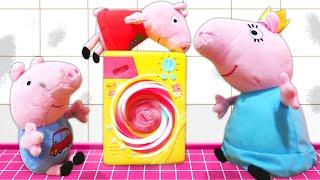 Mama Wutz bekommt eine Waschmaschine - Peppa Pig auf Deutsch