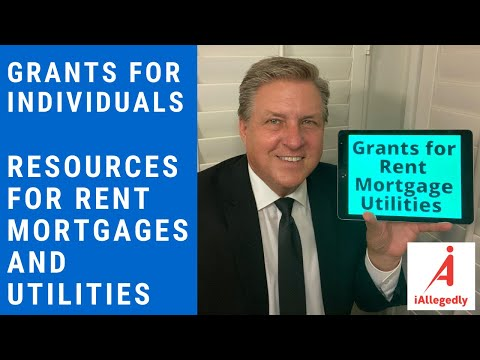 Grants for Individuals. Resources to Help Pay Rent, Mortgage and Utilities