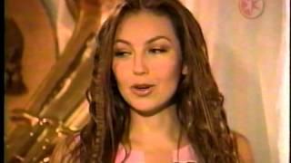 Thalia Presenta su video Reencarnacion