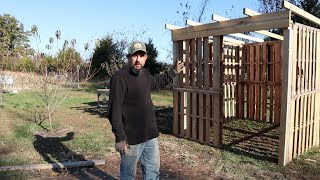 Back to Work on the DUCK HOUSE Pallet Shed!