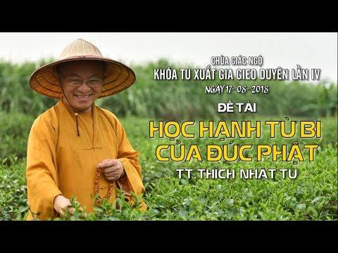 Học hạnh từ bi của đức Phật - TT. Thích Nhật Từ