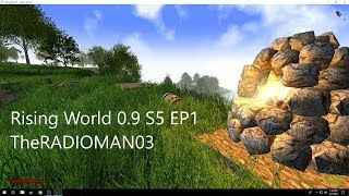 """Rising World 0.9 S5 EP1 """"A look at the big update"""""""