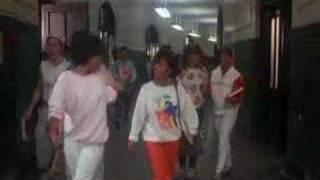 fat boys goofin off in school