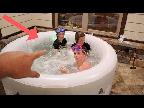 Wal-Marts Best Kept Secret The Coleman Tahiti Spa Hot Tub! Best Inflatable Hot Tub