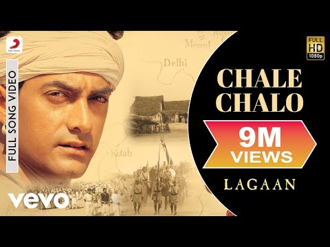 A.R. Rahman - Chale Chalo Best Video|Lagaan|Aamir Khan|Srinivas|Ashutosh Gowariker