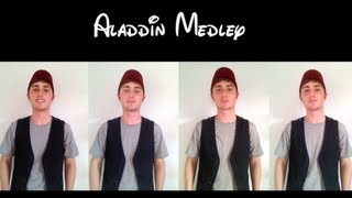Aladdin Medley -- One Man A Cappella Quartet
