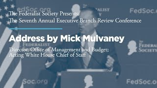 Click to play: Address by Mick Mulvaney