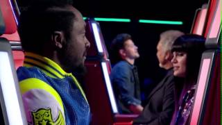 David Julien FULL Blind Audition- The Man Who Can't Be Moved