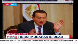 BREAKING NEWS: 91-year-old Former Egyptian President Hosni Mubarak is dead