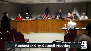 Rochester City Council - 12-18-18