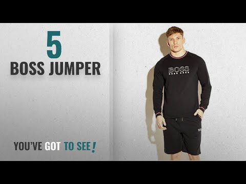 Top 10 Boss Jumper [2018]: Hugo Boss Men's Authentic Sweatshirt