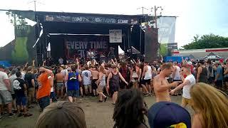 Every Time I Die - Pigs Is Pigs (Vans Warped Tour 2018 Nashville, TN)