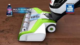 Discover the Bissell Crosswave Vacuum and Wet Mop - The Good Guys