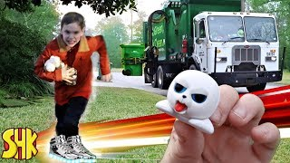 Noah's Feisty Pets CHASE and SEARCHING for his sister with Super speed Shoes | SuperHeroKids