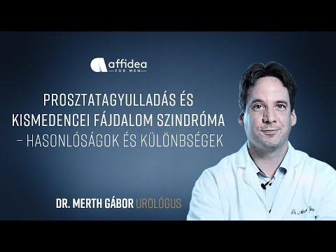 Kórtörténet prosztatagyulladás