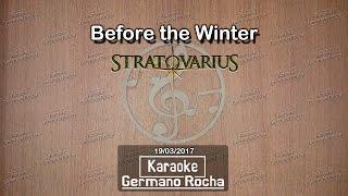 Stratovarius - Before the winter (Karaoke)