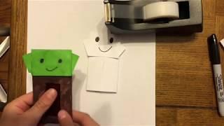 Origami Jedi Master Yoda - YouTube   180x320