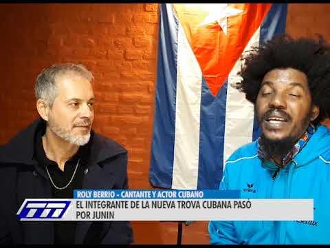 ROLY BERRIO - CANTANTE Y ACTOR CUBANO